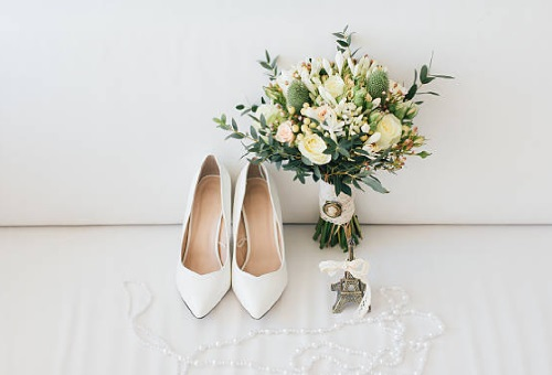 wedding shoes bridal preparations